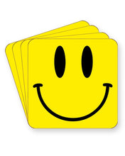 Load image into Gallery viewer, Acid House Smiley - Rave Culture - Barware Home Kitchen Drinks Coasters