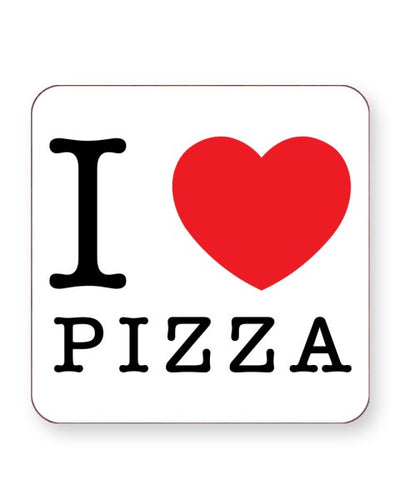 I Love Pizza - Barware Home Kitchen Drinks Coasters