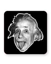 Load image into Gallery viewer, Albert Einstein Tongue - Barware Home Kitchen Drinks Coasters