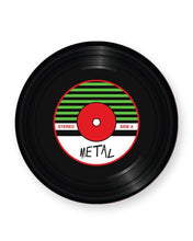 Load image into Gallery viewer, Vinyl Record Metal Music Genre - Barware Home Kitchen Drinks Coasters