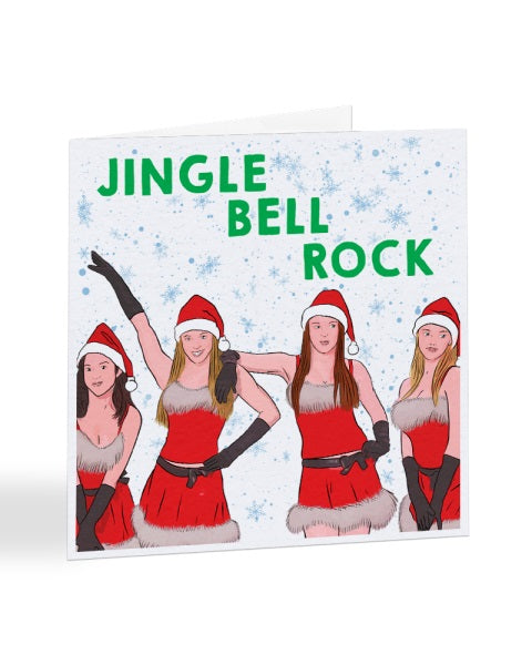 Jingle Bell Rock - Mean Girls Funny Christmas Card