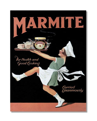 Marmite For Health And Cooking Advert Vintage Bar Metal Wall Sign