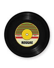 Load image into Gallery viewer, Vinyl Record Reggae Music Genre - Barware Home Kitchen Drinks Coasters
