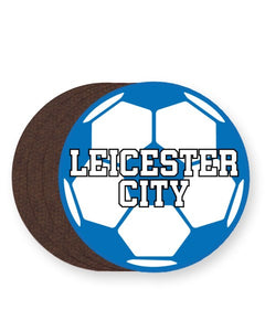 Leicester City Football Club Fan - Barware Home Kitchen Drinks Coasters