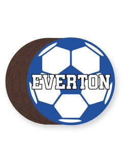 Everton Football Club Fan - Barware Home Kitchen Drinks Coasters