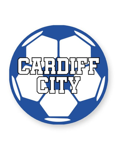Cardiff City Football Club Fan - Barware Home Kitchen Drinks Coasters