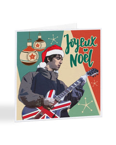 Joyeux Noel - Noel Gallagher - OASIS - Christmas Card