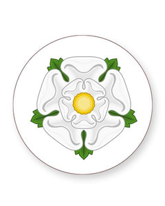 White Rose of York - Barware Home Kitchen Drinks Coasters