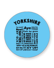Load image into Gallery viewer, Yorkshire Slang Words - Funny Dialect - Barware Home Kitchen Drinks Coasters