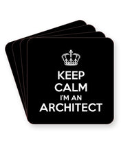Load image into Gallery viewer, Keep Calm I'm an Architect - Barware Home Kitchen Drinks Coasters