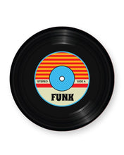 Load image into Gallery viewer, Vinyl Record Funk Music Genre - Barware Home Kitchen Drinks Coasters