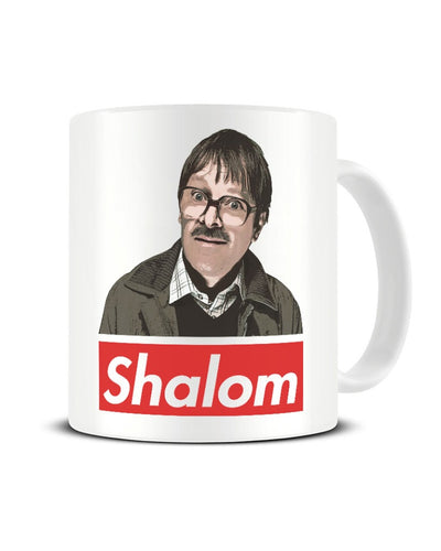Jim Friday Night Dinner Shalom Jackie Funny Ceramic Mug