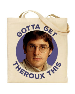 Gotta Get Theroux This - Louis Theroux - Canvas Shopper Tote Bag