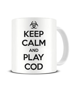 Keep Calm And Play Cod - Video Game Inspired Ceramic Mug