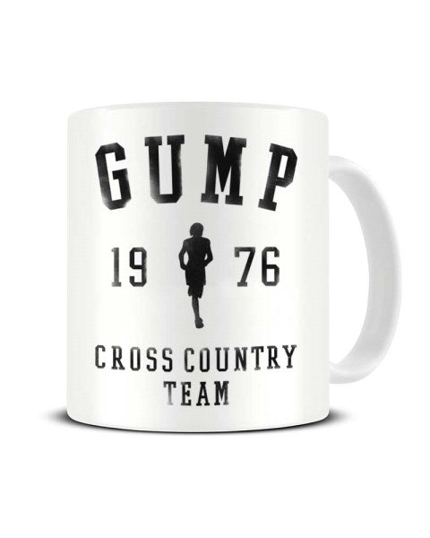 Gump 1976 Cross Country Team - Forrest Gump Inspired Funny Ceramic Mug