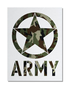 Army - Special Forces - Metal Wall Sign