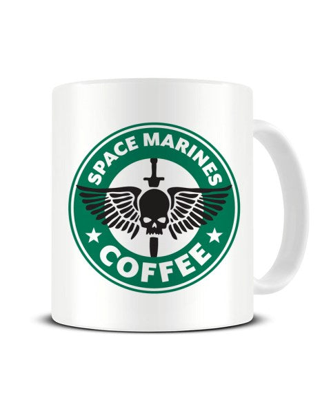 Space Marines Coffee Tabletop Gamer Ceramic Mug