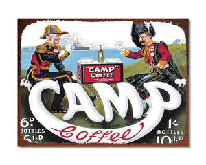 Camp Coffee - Vintage Advert Kitchen Wall Sign