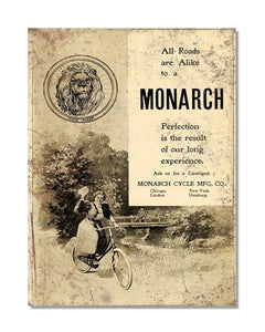 Monarch Cycle - Bicycle Advertisement Wall Sign