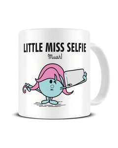 Little Miss Selfie - Mr Men Parody Ceramic Mug