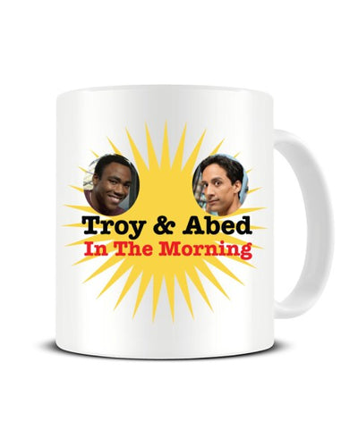 Troy And Abed In The Morning - Community Tv Show Ceramic Mug