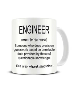 Engineer Definition Funny Workplace Office Ceramic Mug