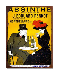 Absinthe Extra Superieure - Vintage Advertising Poster Kitchen Metal Wall Sign