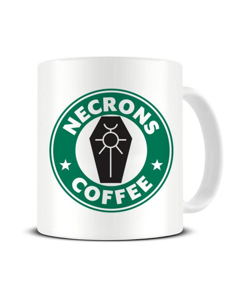 Necrons Coffee Tabletop Gamer Ceramic Mug