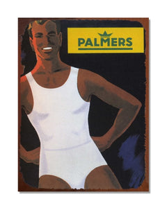 Palmers Boxers - Vintage Metal Advertisement Wall Sign