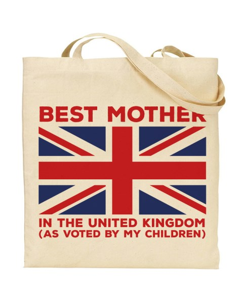 Best Mother In The United Kingdom - Mothers Day - Canvas Shopper Tote Bag