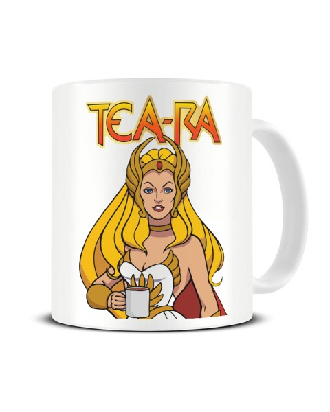Tea-Ra - Funny She-ra Tv Show Parody Ceramic Mug