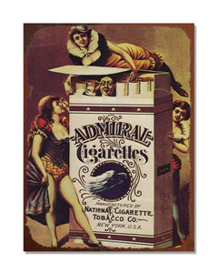 Admiral Cigarettes - Vintage Cigarette Advertising Wall Sign