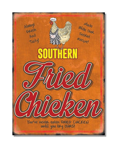Southern Fried Chicken - Vintage Restaurant Wall Sign