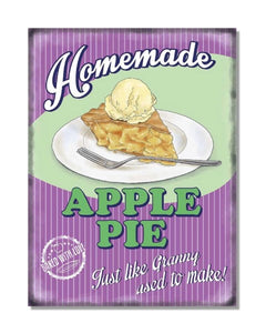 Homemade Apple Pie - Vintage Restaurant Wall Sign