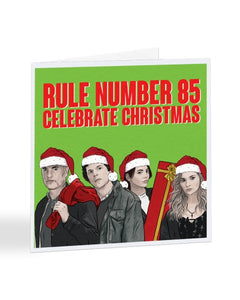 Rule Number 85 - Celebrate Christmas - Zombieland 2 Double Tap - Christmas Card