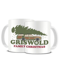 Griswold Family Christmas National Lampoons Inspired Ceramic Mug
