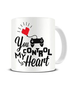 You Control My Heart - Video Game Inspired Ceramic Mug