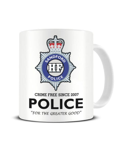 Sandford Police Force - Hot Fuzz Inspired Ceramic Mug