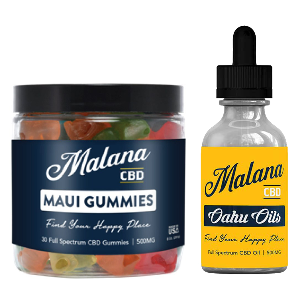Intermediate Package- Gummy Bears and Mango Tincture