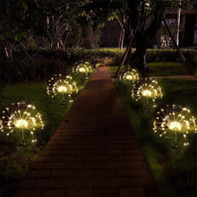 Load image into Gallery viewer, Dandelion Shape LED Solar Lights Garden Decoration