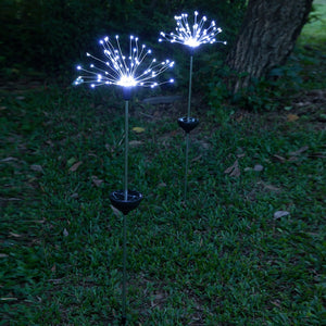 Dandelion Shape LED Solar Lights Garden Decoration