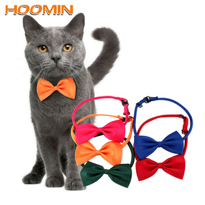 HOOMIN Necktie Clothes Puppy Pets Neck Tie Pet Cat Dog Collar Bow Tie Adjustable Neck Strap Cat Dog Grooming Accessories