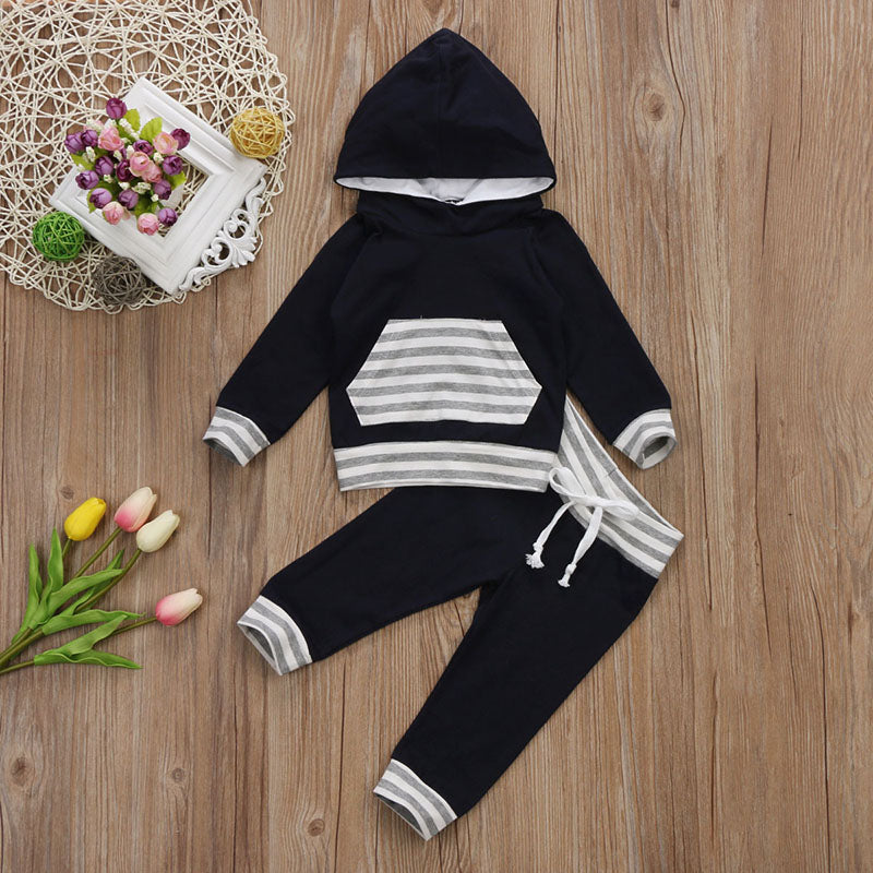 Kids Hooded 2 Pcs Garment