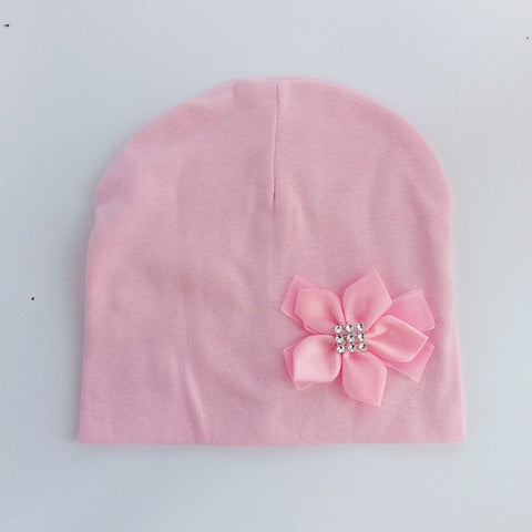 Beanie for Girls Butterfly Knot