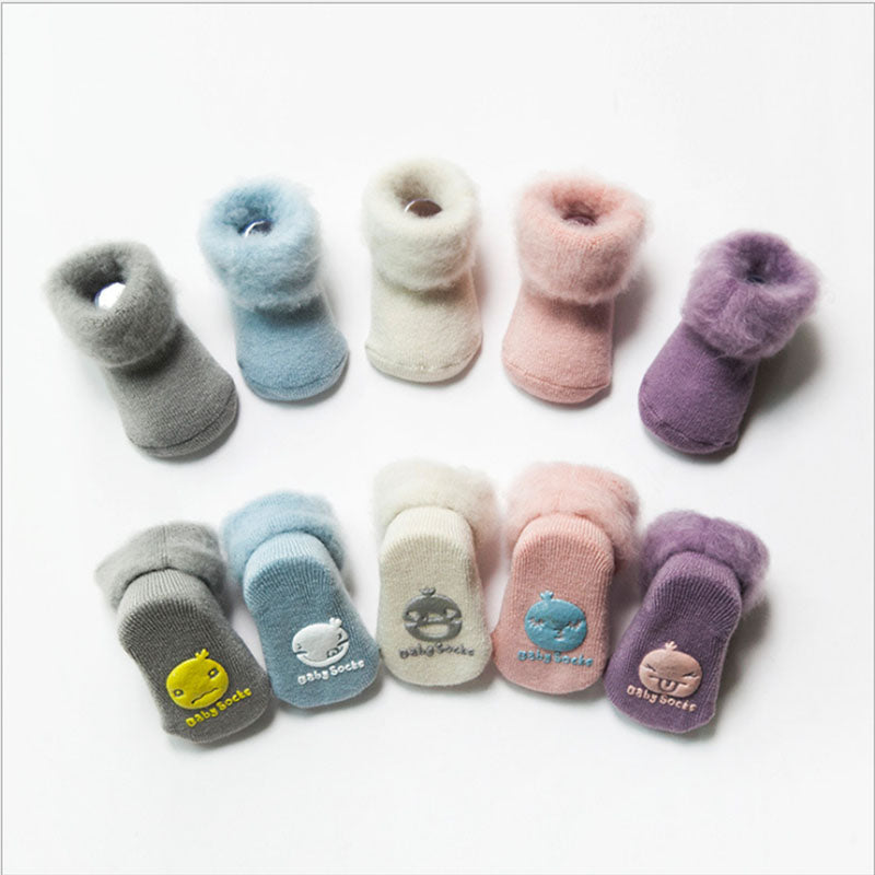 Non-Slip Cotton Baby Kids Warm Socks