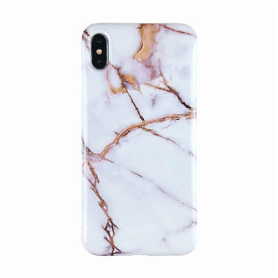 Marble X Accessories Cases For iPhone X XS Max Case Soft TPU Back Cover For iPhone XS XR iPhone 8 7 6 6S Plus Case Cover