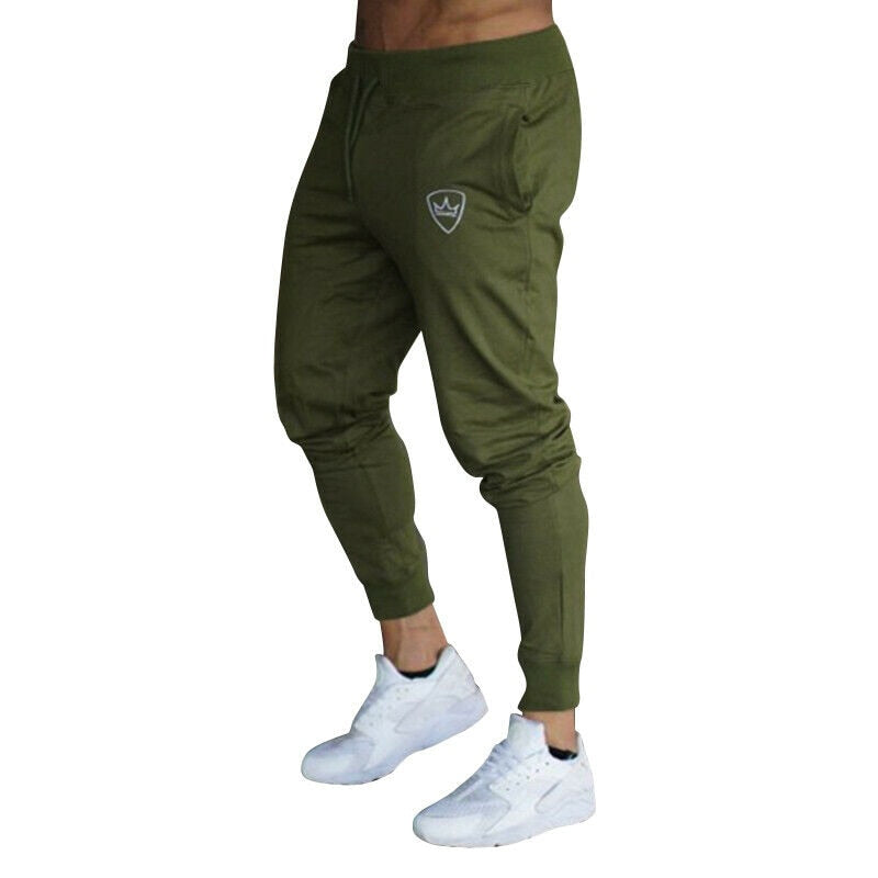 2019 Summer Men's Gym Training Jogging Pants Men Joggers Slim Fit Soccer Sweatpants Cotton Workout Running Tights Sport Trousers - Hypa Fashion