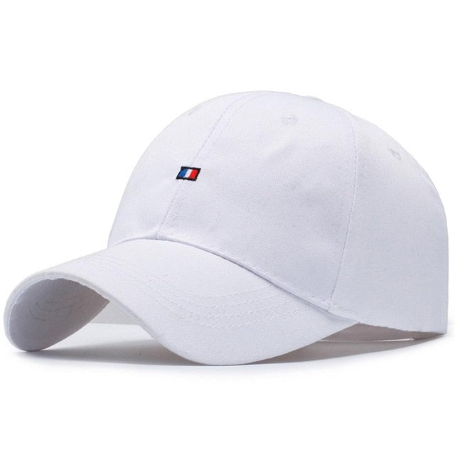 Men & Womens Solid Colour Embroidered Adjustable Baseball Cap