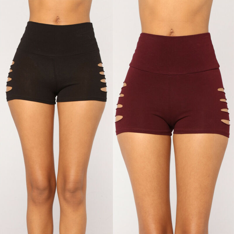 Womens Fitness Booty Shorts