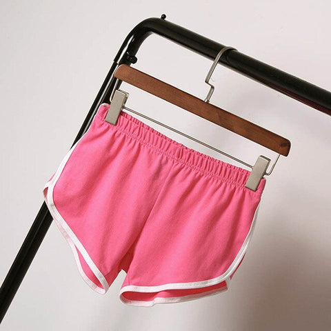 Womens Hot Elastic Waist Shorts